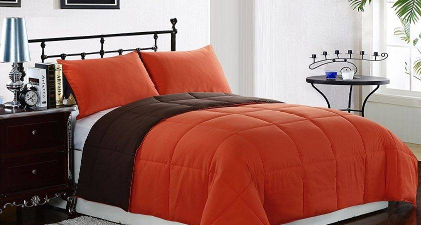 Orange Bedding Sets Beautiful Bedroom