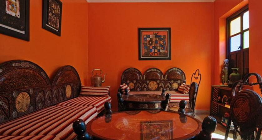 Orange Paint Colors Living Room Home Combo