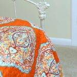 Orange Turquoise Bedroom Decor Makes Smile