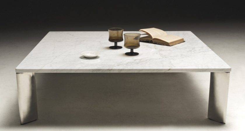 Otello Contemporary Marble Coffee Table Tables
