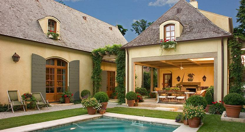 Our French Inspired Home Style Landscaping Using