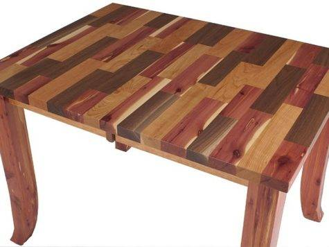 Our Pennsylvania Mixed Wood Table Came