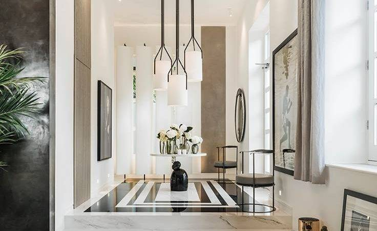 Our Porcelain Marble Slabs Used Kelly Hoppen New