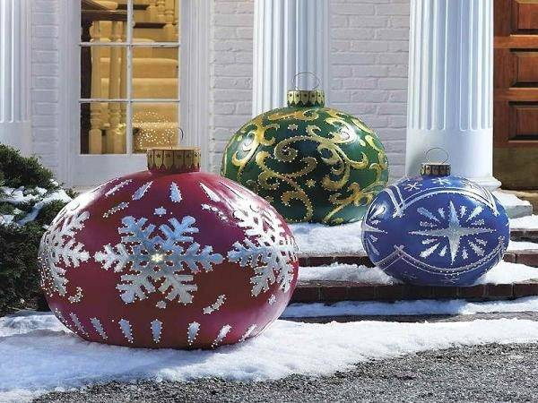 Outdoor Christmas Decorations Ideas Winter