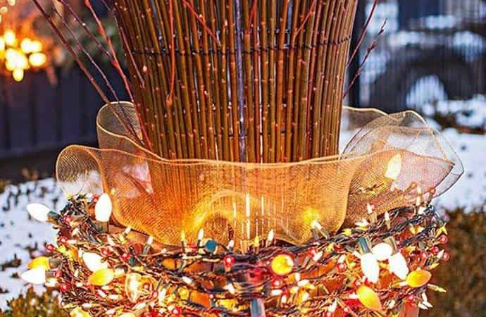 Outdoor Christmas Lights Ideas Your Yard Decoration