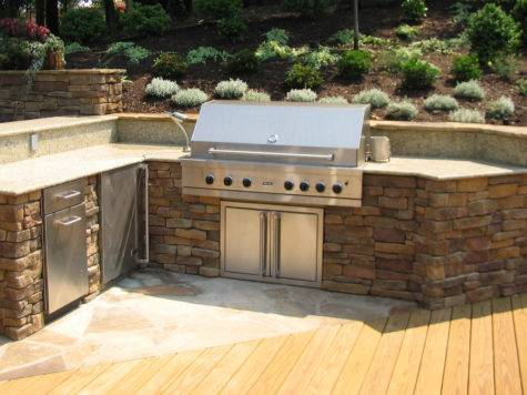 Outdoor Grill Furniture
