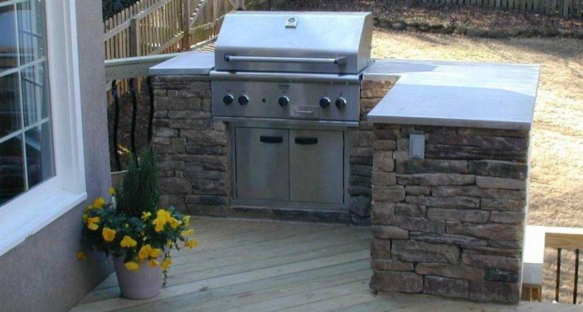 Outdoor Grills Built Plans Kitchen Deck