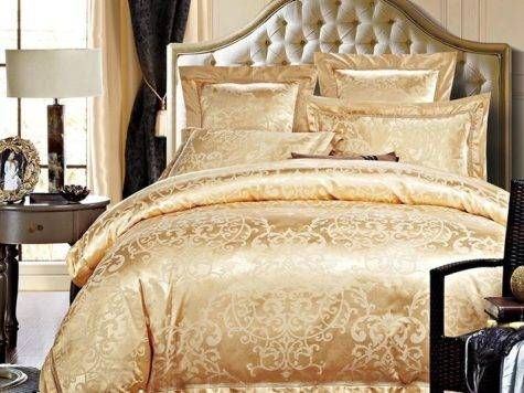 Outstanding Luxury Gold Bedding Presence Atzine
