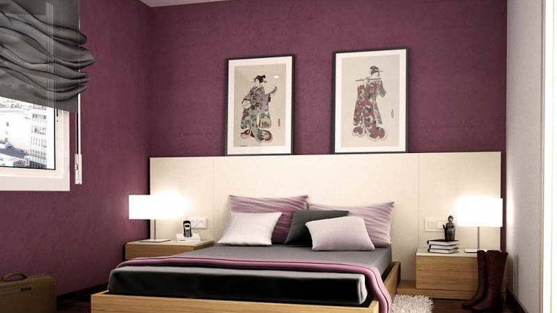 Paint Styles Bedrooms Purple Colors