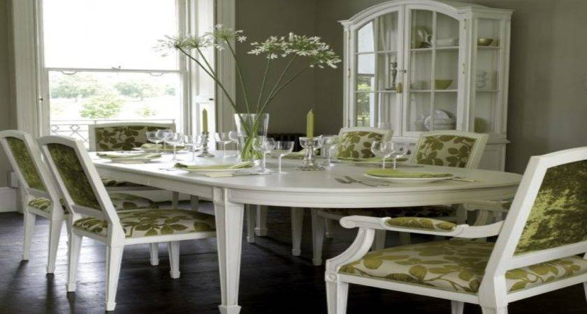 Painted Dining Chairs Room Table Ideas