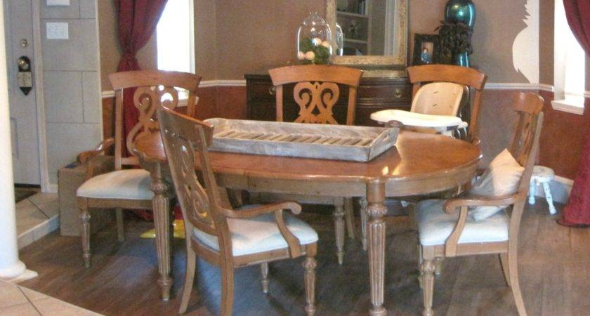 Painted Dining Room Table Classic Mustard Seed Milk