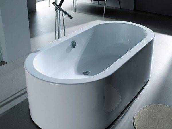 Palermo Small Standing Bath Modern Bathtubs London