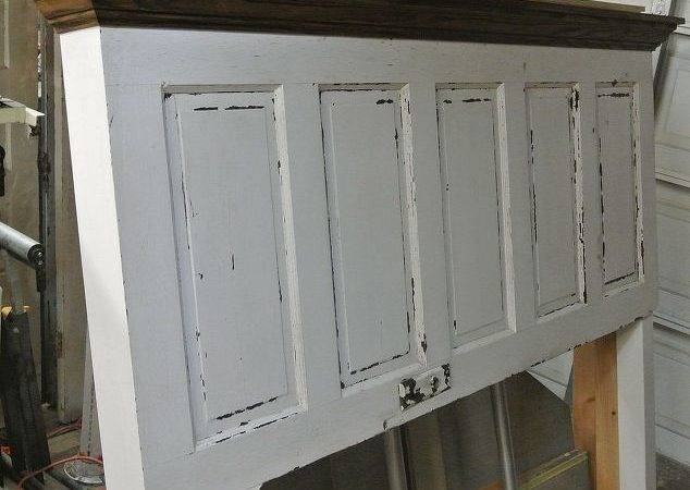 Panel Old Door Converted Into King