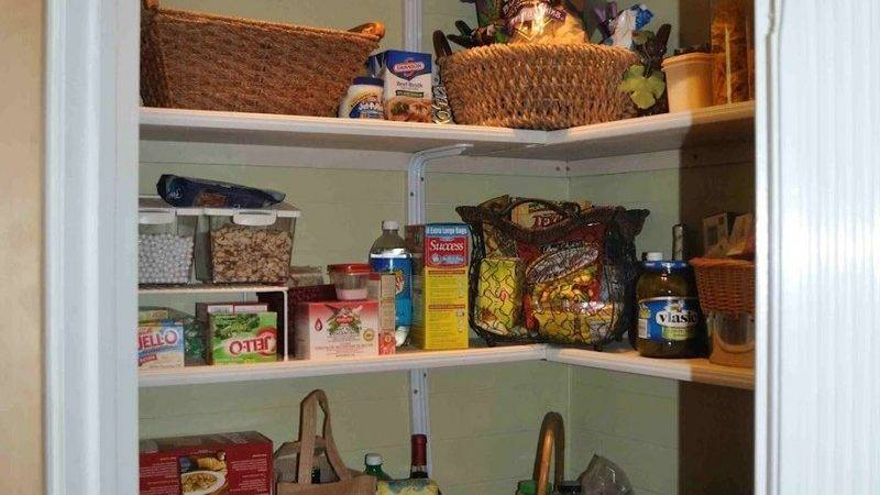 Pantry Shelving Ideas Terior Small Fetching