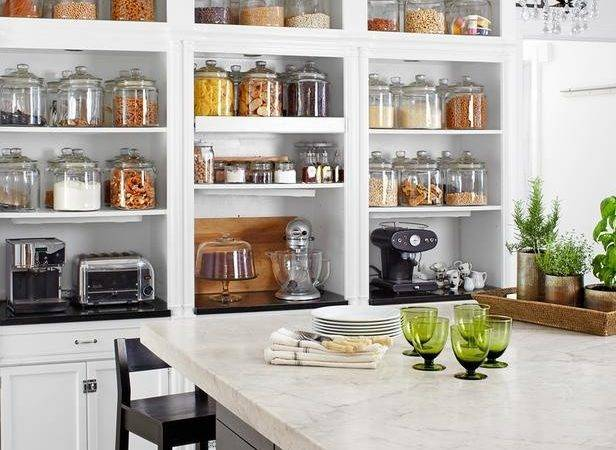 Best Of 13 Images Open Pantry Ideas
