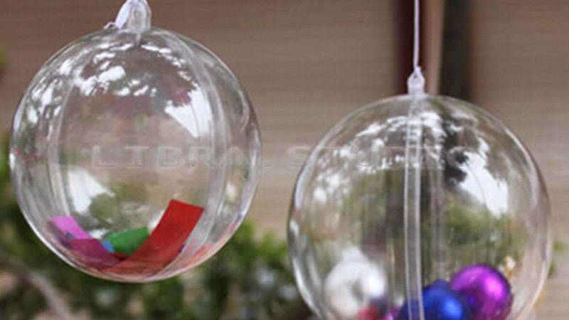 Pcs Christmas Decorations Hanging Ball Bauble Candy