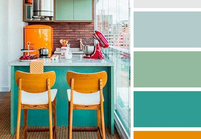 Perfect Color Combinations Brighten Your Kitchen