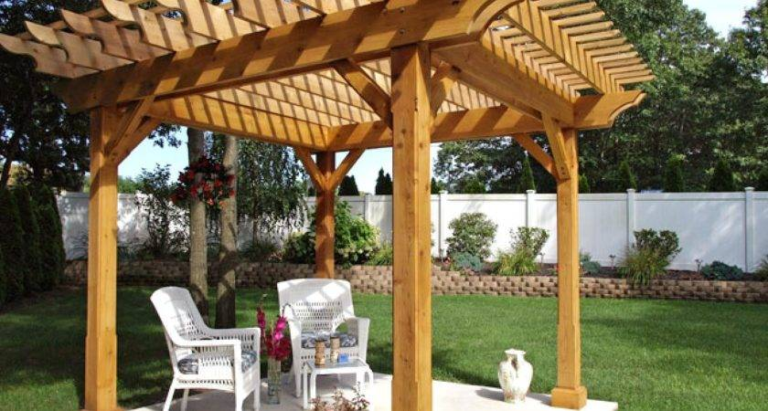 Pergola Gazebo Design Trends Diy Shed