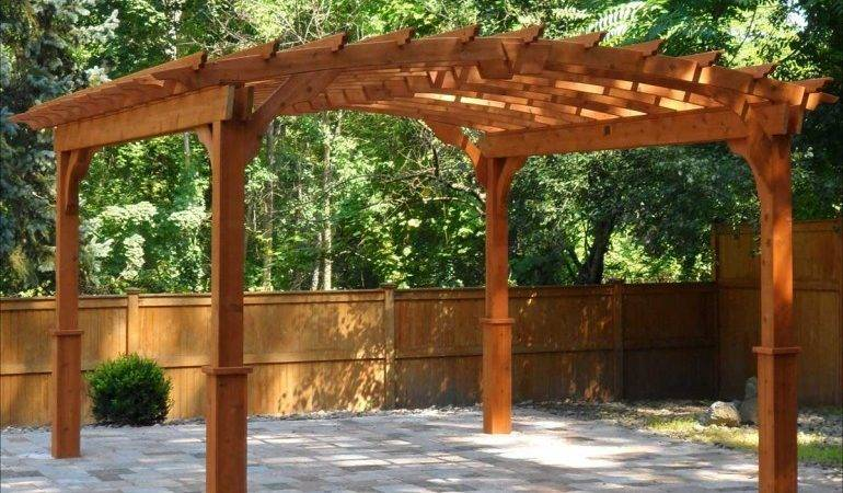 Pergolas Elegantly Crafted Patio