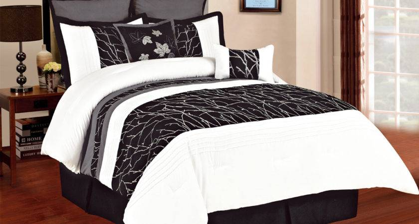 Pin Black White Comforter Set Queen Search