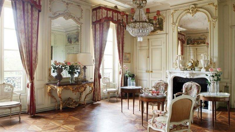 Pin Design Chateau Living Room Pinterest