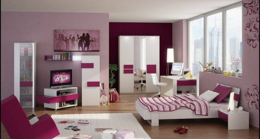 Pink Bedroom Ideas Young Adults White Gloss