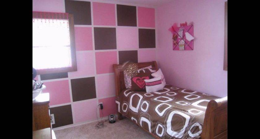 Pink Brown Bedroom Decorations Ideas Youtube