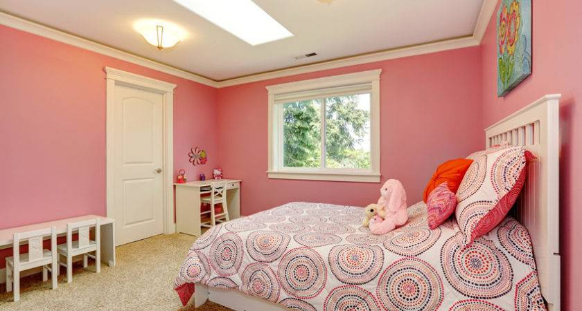 Pink Color Bedroom Walls Making Paint Ideas