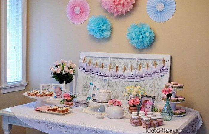 Plan Shabby Chic Party Tight Budget