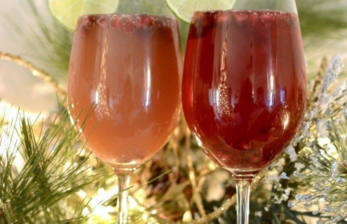 Pomegranate Mimosas Two Thirty Five Designs