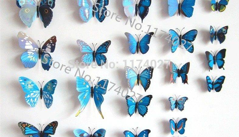 Popular Blue Butterfly Decorations Buy Cheap