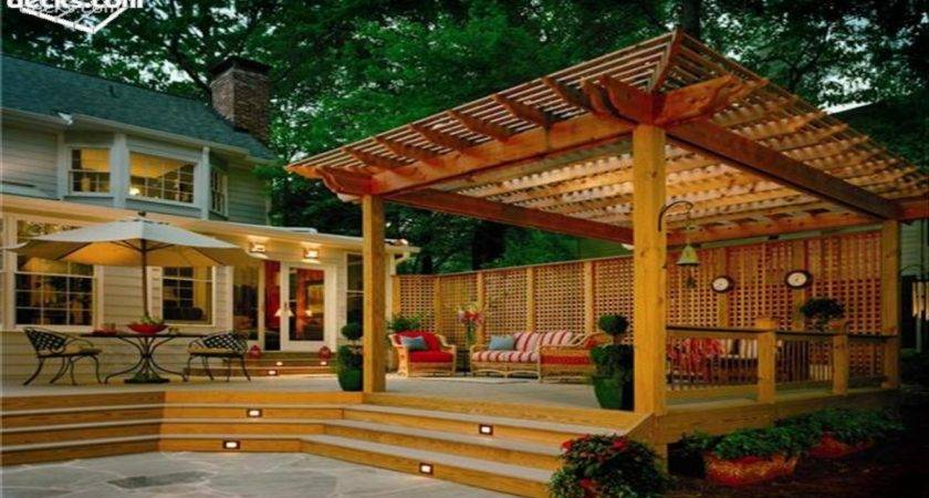 Posite Deck Pergola Interior Designs