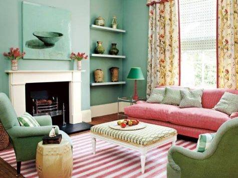 Pretty Living Room Country Style