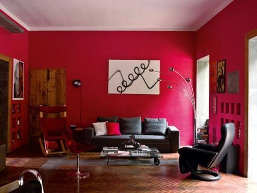 Pros Cons Having Red Living Room Home Design