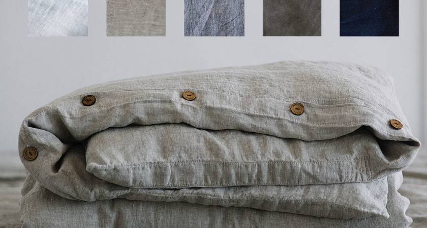 Pure Linen French Duvet Cover Double