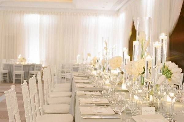 Pure White Wedding Decor Ideas Romantic