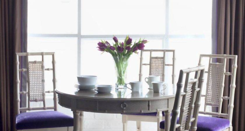 Purple Dining Room Designs Decorating Ideas Design