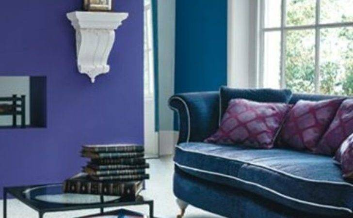 Purple Living Room Ideas Tan Teal Accented Rooms