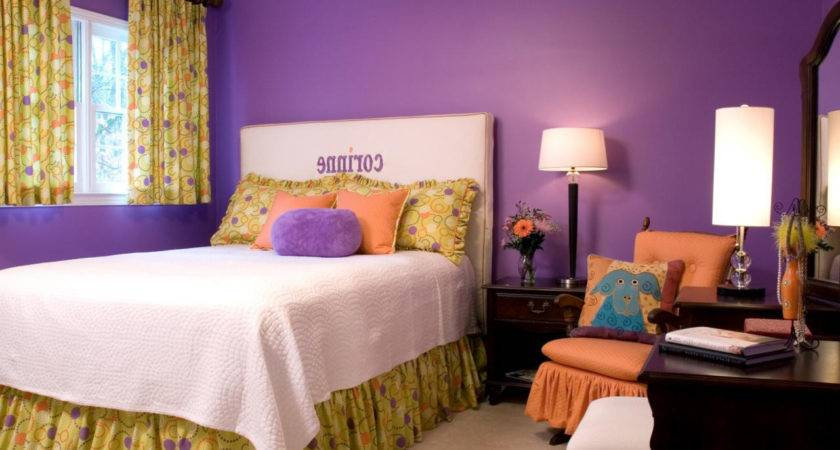 Purple Room Color Combination Home Combo