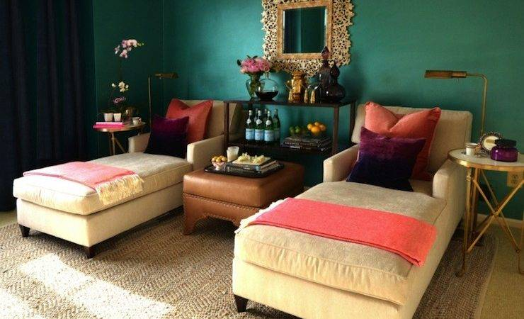 Purple Teal Living Room Quotes