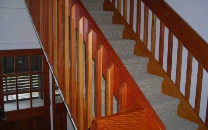 Railings Stairs Iron Balusters Stair Wood Rod Indoor