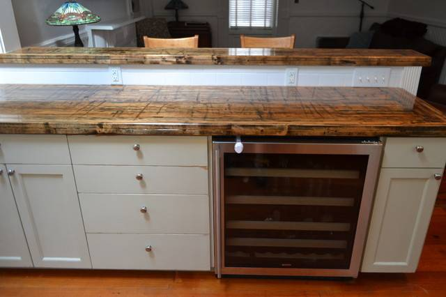 Reclaimed Railcar Truck Bed Planks Traditional