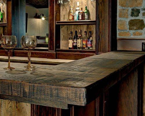 Reclaimed Wood Bar Tops Ideas Remodel Decor