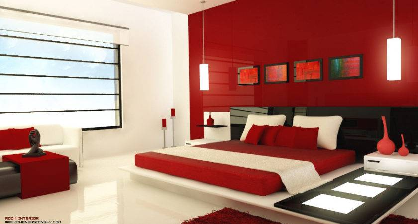 Awesome Red Black White Bedroom Ideas 27 Pictures Little Big Adventure
