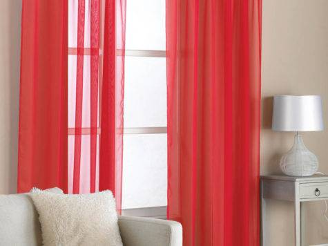 Red Curtains Bedroom