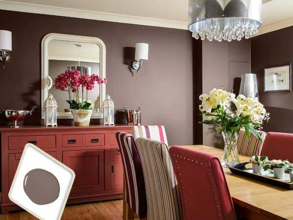 Red Dining Room Color Idea Best Cars Reviews