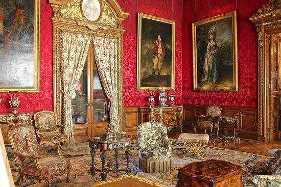 Red Drawing Room Waddesdon Manor