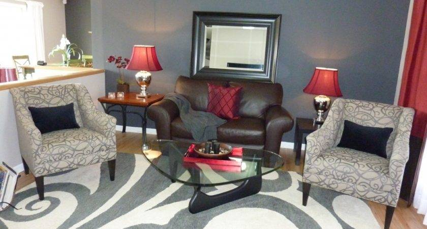 Red Gray Living Room Ideas Dgmagnets