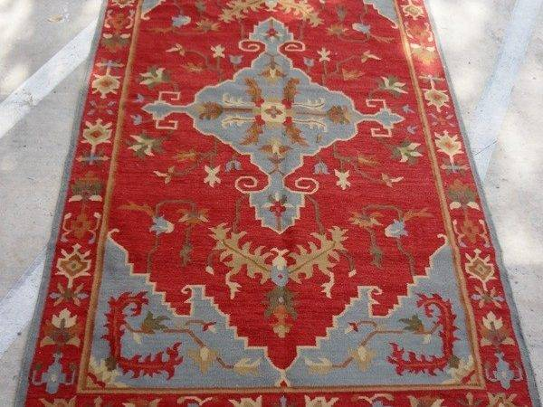 Red Grey Rugs Home Design