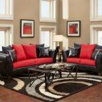 Red Living Room Decorating Ideas Incredible Black